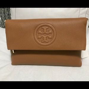 Tory Burch Bombe Fold-Over Messenger